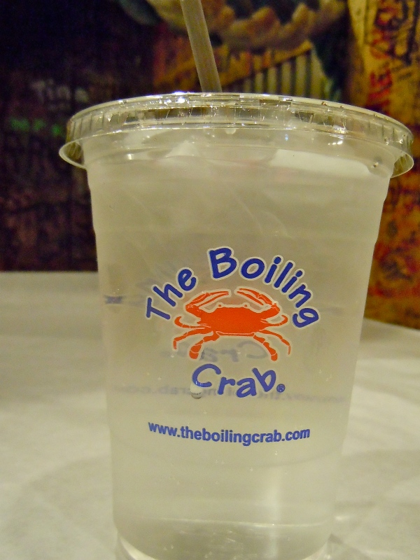 Boiling Crab water