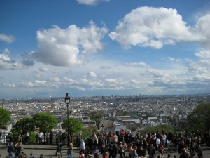 View from the Sacre-Coer