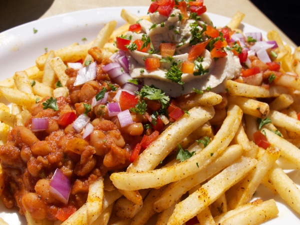 Native Foods chili fries