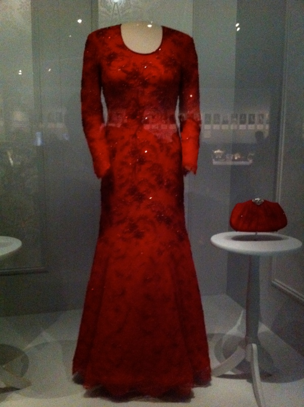 Barbara Bush Gown