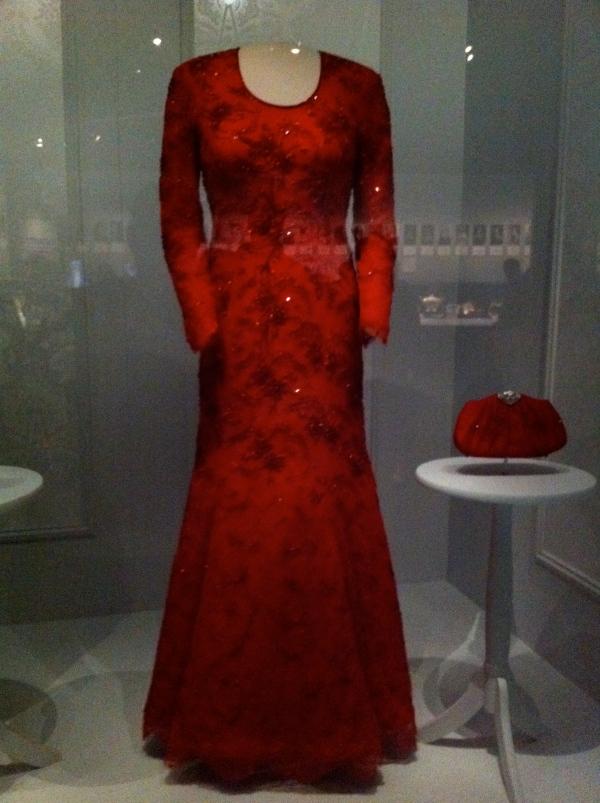 Barbara Bush Gown