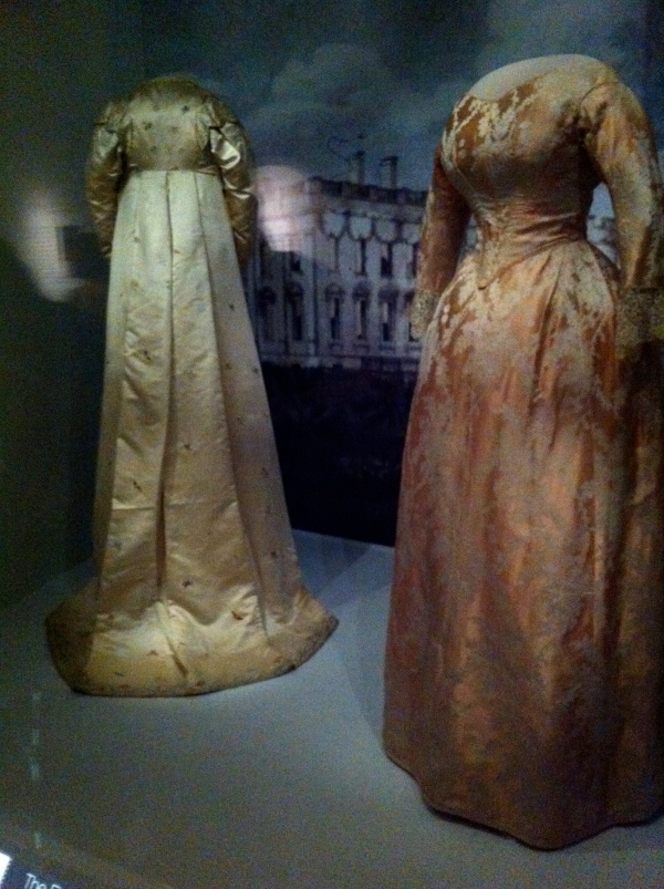 Old-fashioned gowns