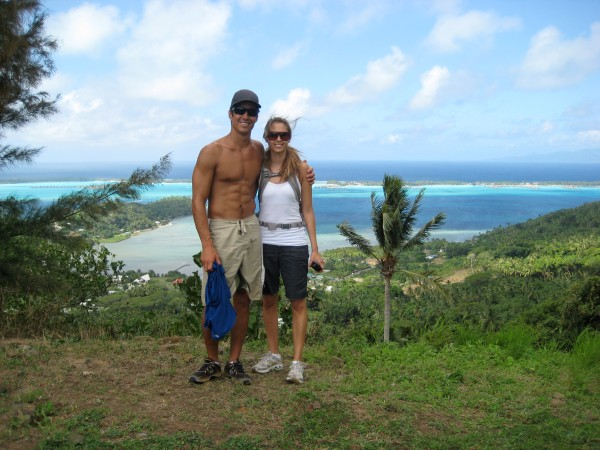 Nurse Frugal's Hike in Bora Bora