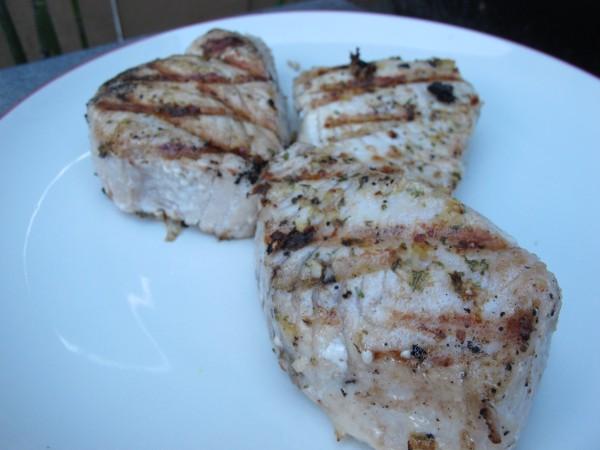 Tuscan style tuna