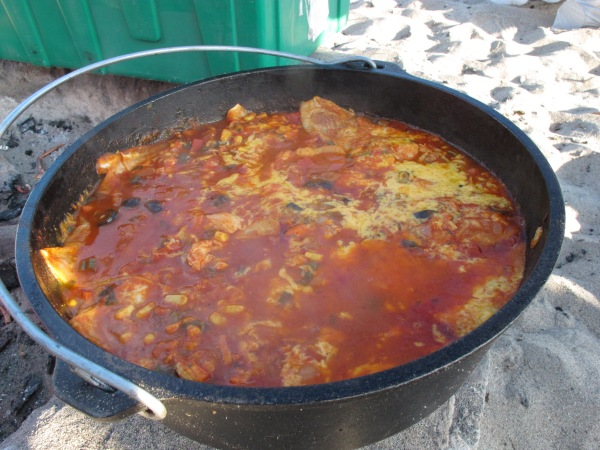 Dutch oven chicken enchiladas nurse frugal for Dutch oven chicken recipes for camping