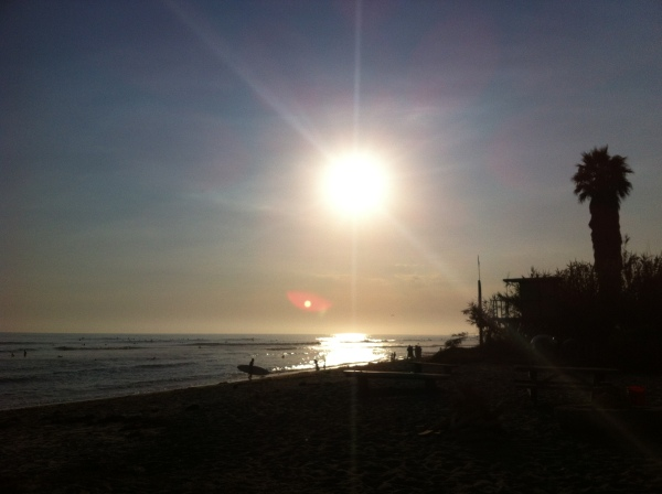 Sunset at San Onofre