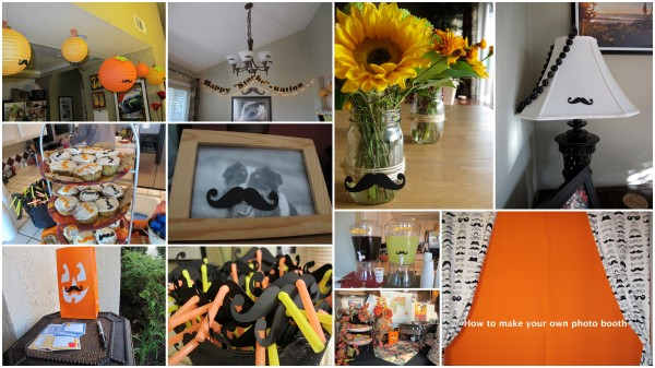 Ideas for mustache themed party