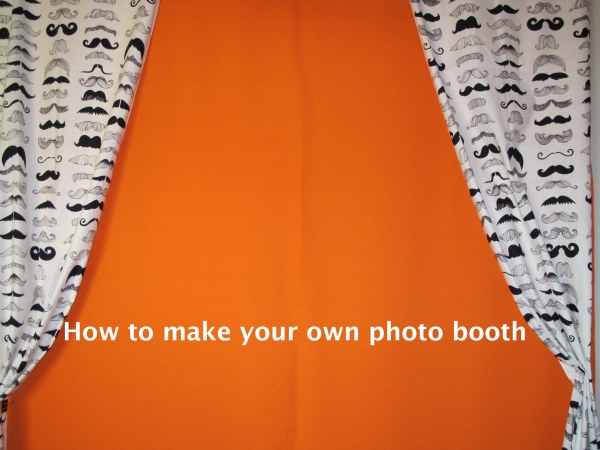 How to make your own photo booth