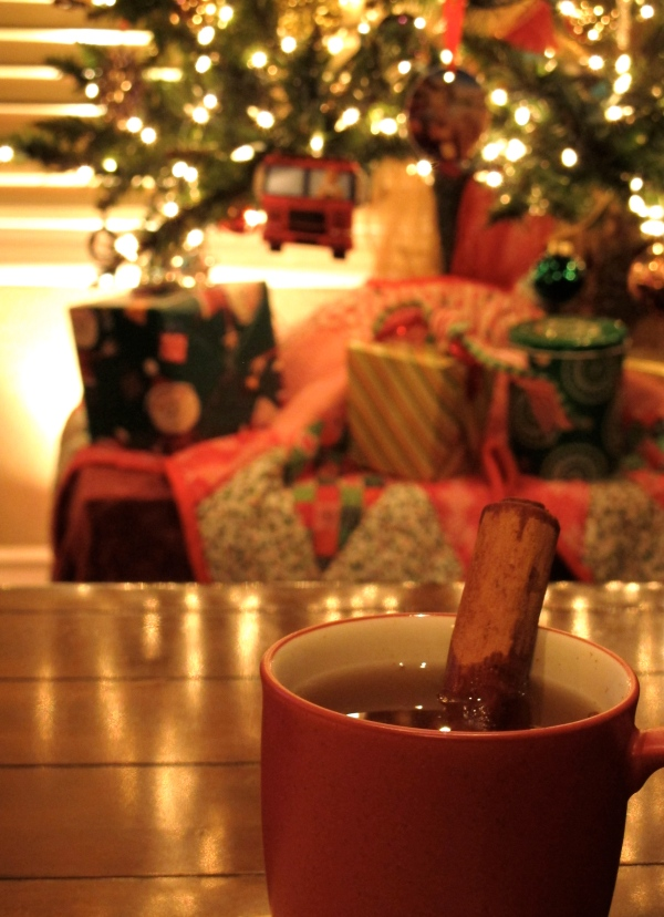 Christmas Day Warm Apple Cider