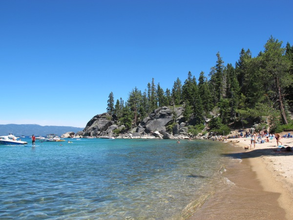 A picture from our time in Lake Tahoe.