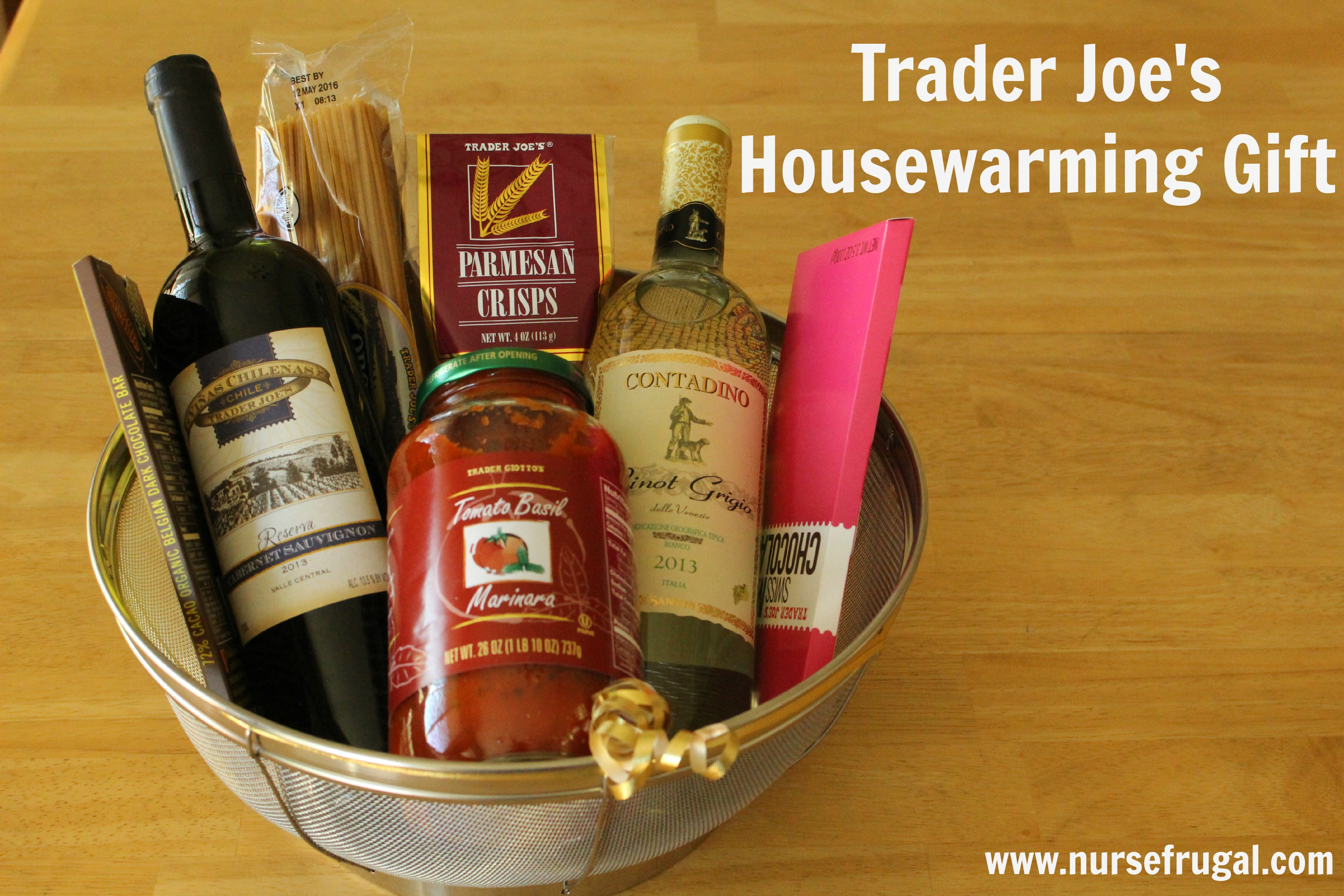 Housewarming gift idea nurse frugal What is house warming